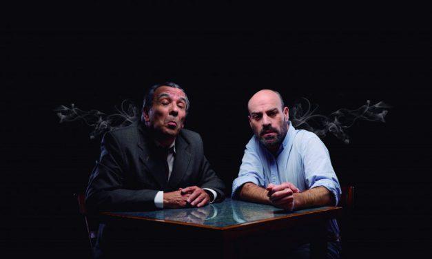 Borges y Fontanarrosa en un bar del paraíso
