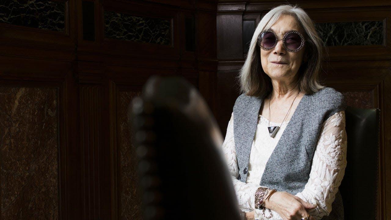 Conversación con María Kodama en la Biblioteca Argentina