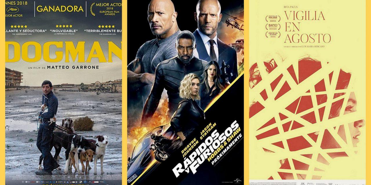 Estrenos de cine jueves 1 de agosto de 2019