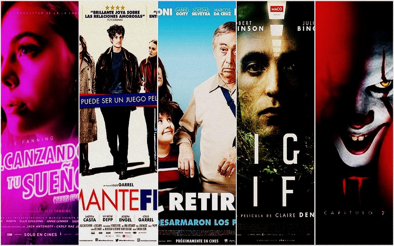 Estrenos de cine jueves 5 de septiembre de 2019