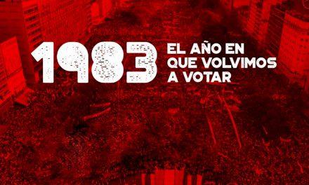 """Muestra """"1983: el año en que volvimos a votar"""""""