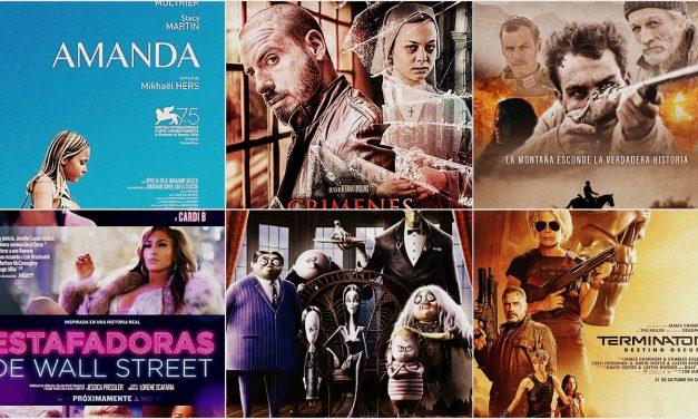 Estrenos de cine jueves 31 de octubre de 2019