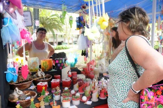 Llega una feria especial de Reyes a plaza Sarmiento