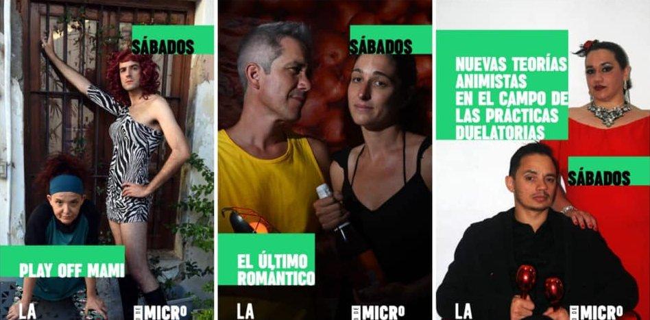 Microteatro de sábados en La Raíz